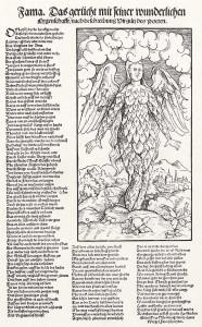 Gravure tirée d'une traduction allemande de Virgile par Hans Weigel, 1546.